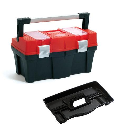 Valigetta porta utensili con maniglia a scomparsa 245x257x458 mm