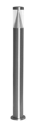 Lampioncino da esterno a led in acciaio INOX, altezza 80 centimetri