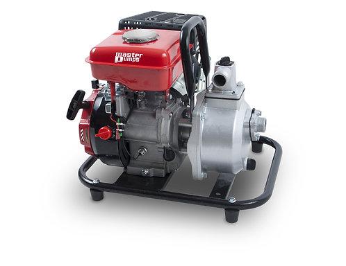 Pompa con motore a scoppio 2,4HP per acque chiare, portata massima 7000L/h