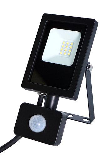 Proiettore a led 10W da muro con fotocellula sensore di movimento