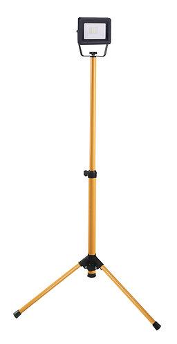 Proiettore a led 10W con piedistallo, altezza massima 110 centimetri