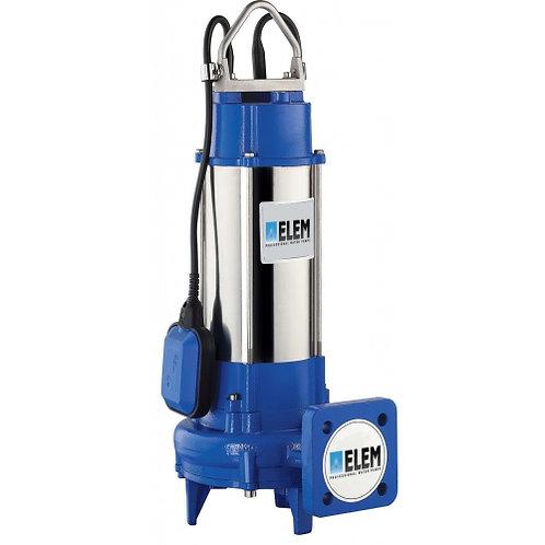 Elettropompa sommergibile con trituratore 1,5  hp 230v