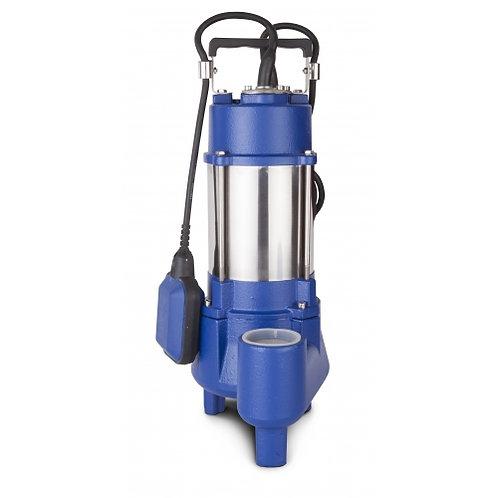 Elettropompa sommergibile vortex corpo in inox/ghisa 1,5 hp 1-230v