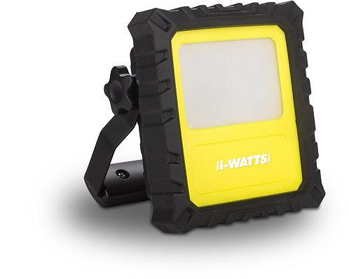 Faretto spot a led 10W ricaricabile tramite porta USB