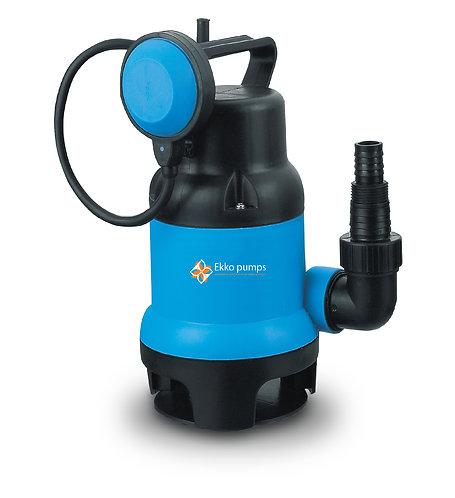 Pompa ad immersione per acque sporche 400W con galleggiante, portata 7500L/h