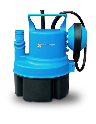 Pompa ad immersione per acque chiare  200W con galleggiante, portata massima 35
