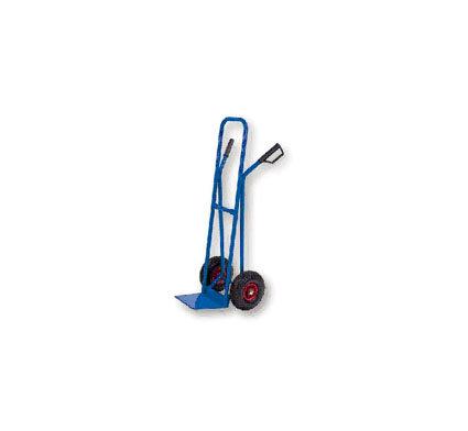Carrello da trasporto con ruote in gomma gonfiabili, portata max 250 kg