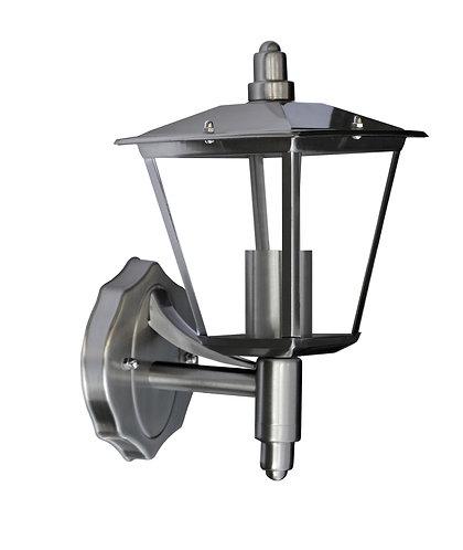 Applique da esterno a lanterna in acciaio INOX, attacco lampada E27