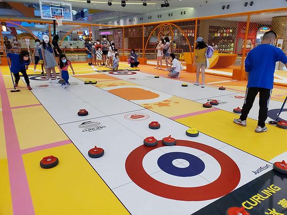 地板冰壺是有趣練耐性的新興運動