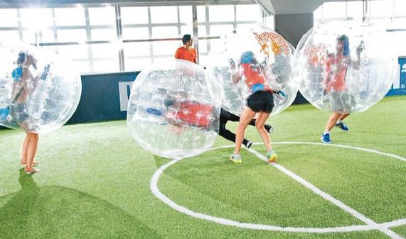 泡泡足球室內香港