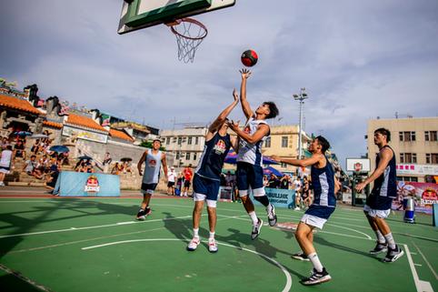 香港Redbull三人籃球比賽