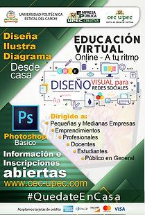 Herramientas de diseño gráfico – Adobe Photoshop.