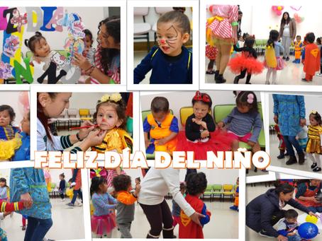 FELIZ DÍA DEL NIÑO PEQUEÑO SABIOS Y UPEC CREATIVA KIDS