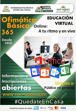Ofimática Microsoft 365 - Básico