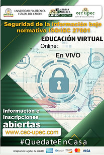 Seguridad de la información bajo normativa ISO/IEC 27001