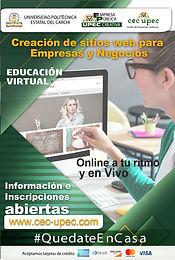 Creación de Sitios Web para empresas y negocios