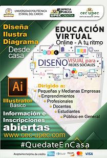 Herramientas de diseño gráfico – Adobe Illustrator.