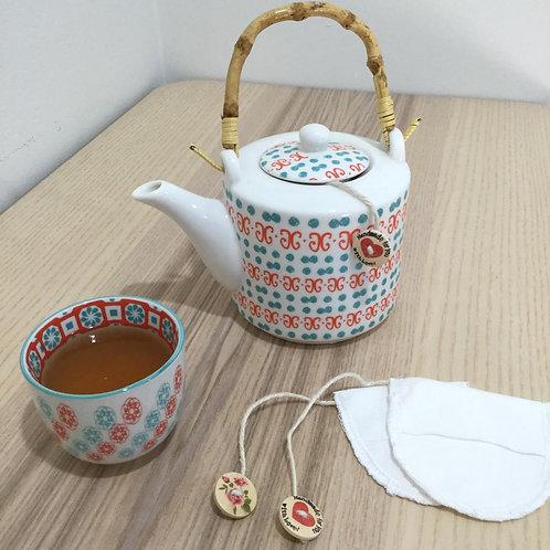 3 Organic Reusable Tea Bags
