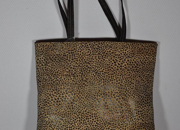 Shoppertas met tijgerprint