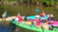 Kayaking the French Broad River near Hendersonville Asheville
