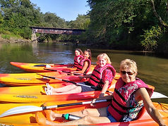 Kayaking the French Broad River near Hen