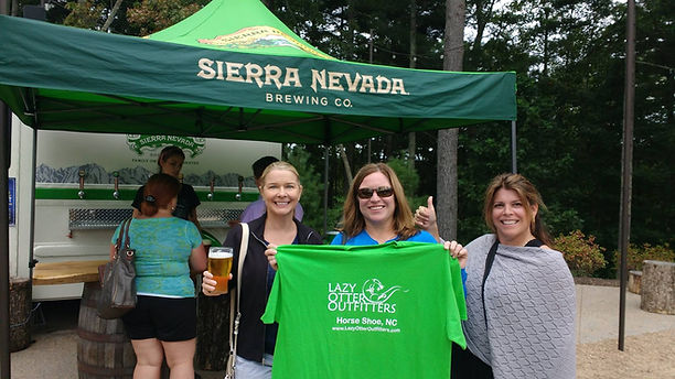 The Sierra Nevada Express makes it easy to paddle and visit the Sierra Nevada Mill River brewery