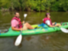 Kayaking the French Broad River near Hendersonville AshevilleKayaking the French Broad River near Hendersonville Asheville