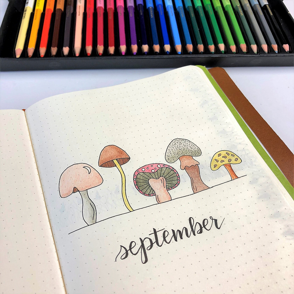 Bullet Journal Autumn Pages