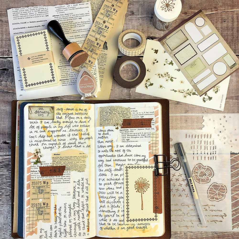 Journal Tip-in Cards