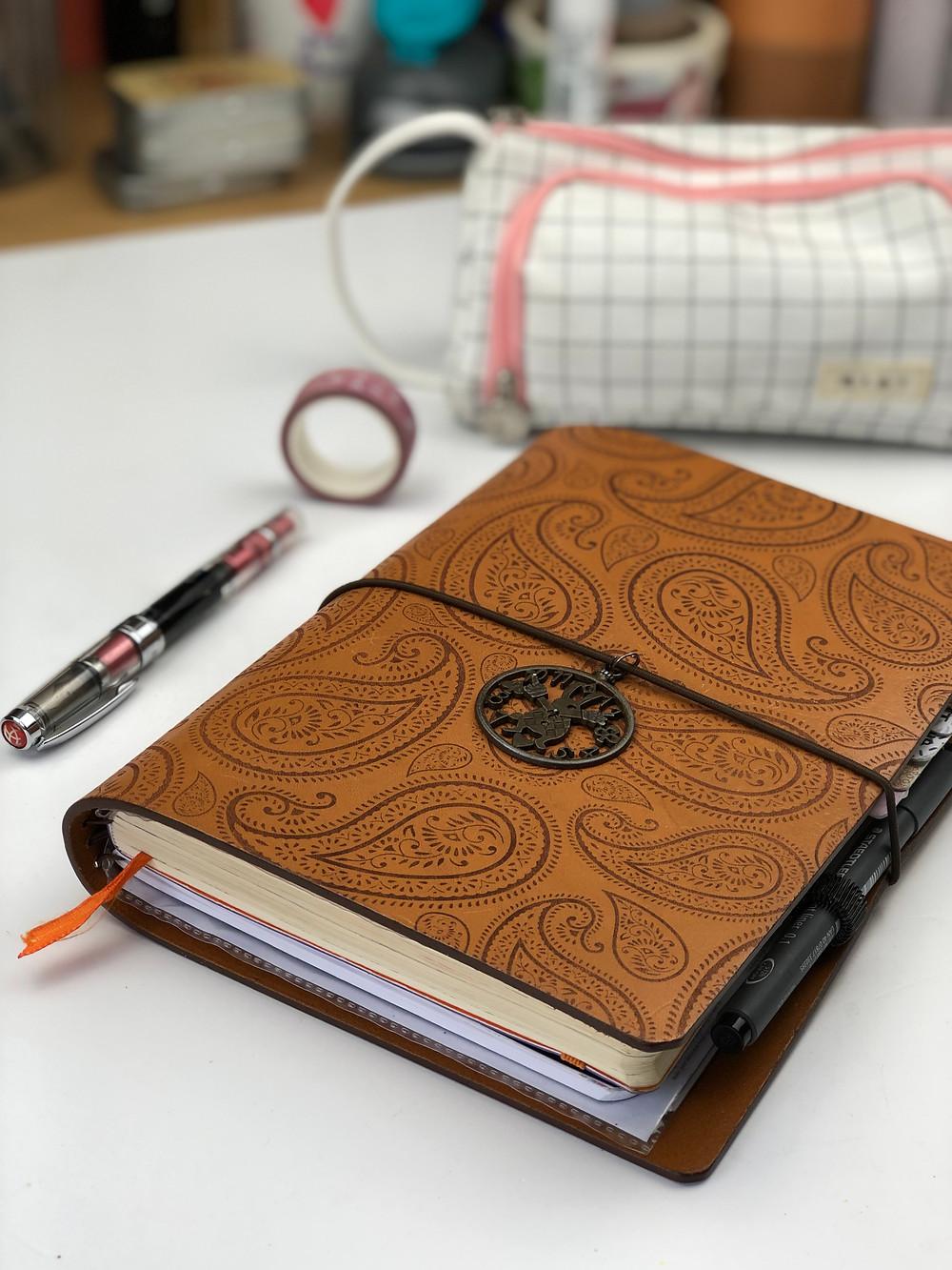 Bullet Journal Travelers Notebook Cover