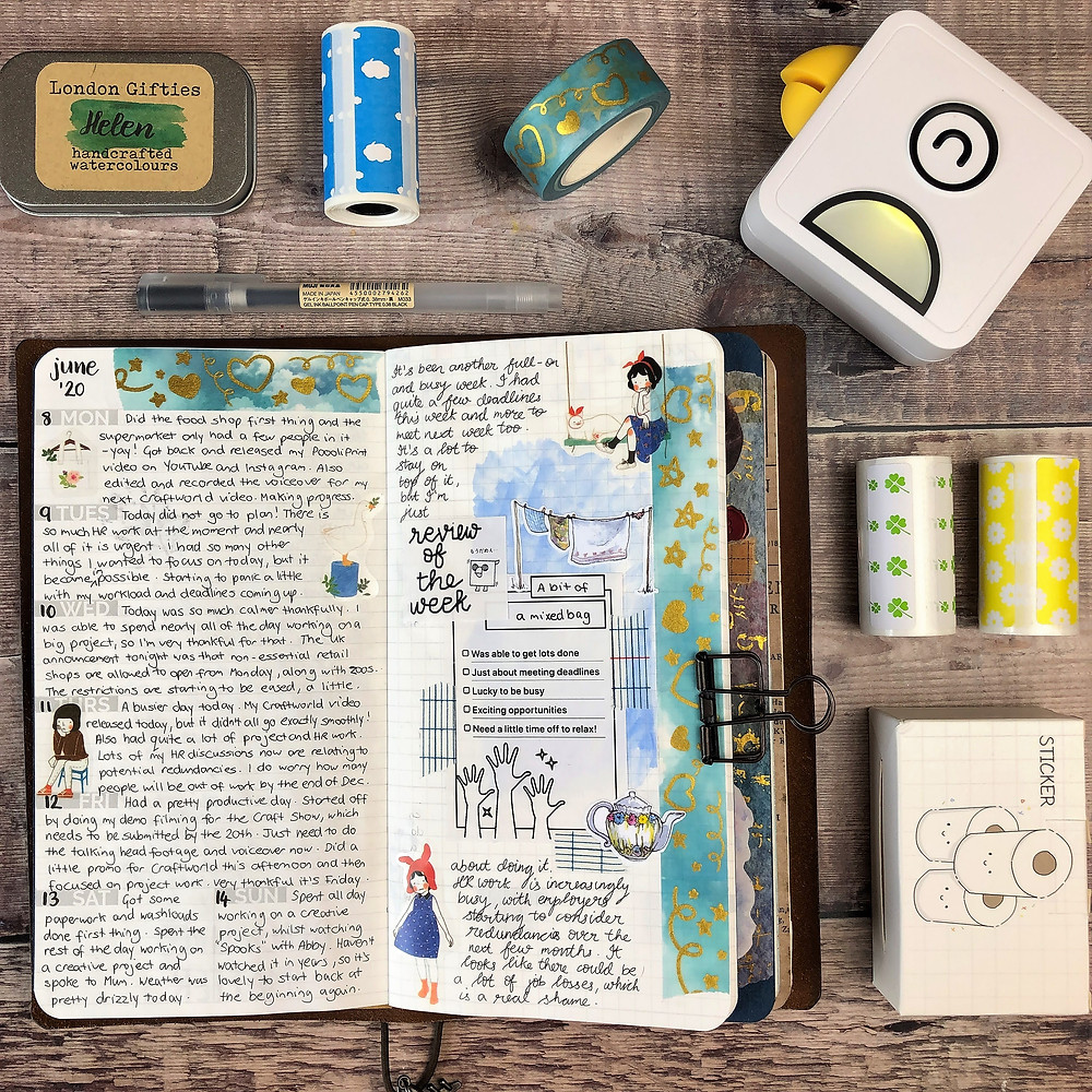 Journaling with Poooliprint