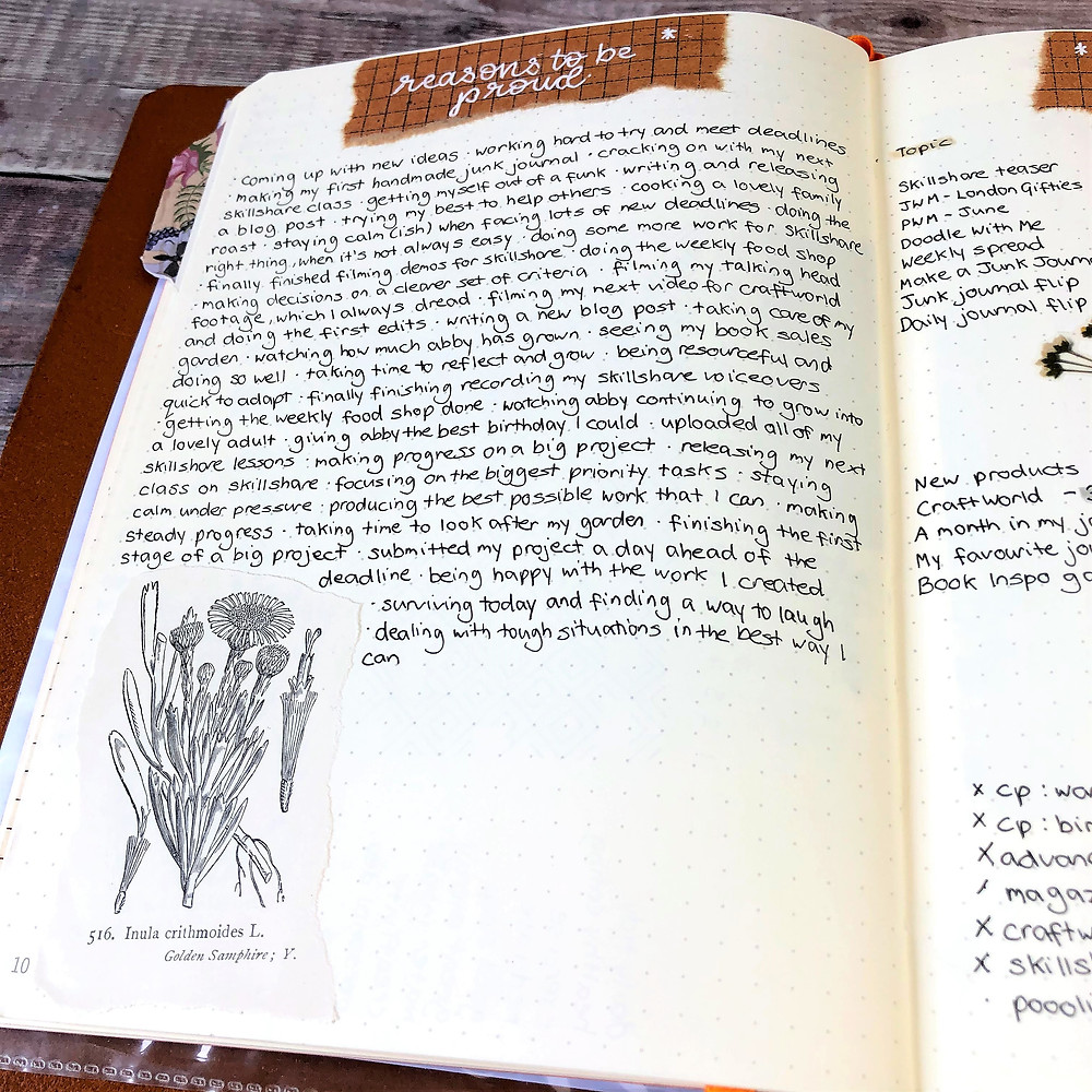 Achievements Journal