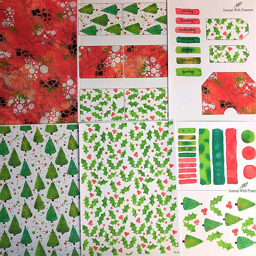 Journal Printables Bundle - Festive Fun