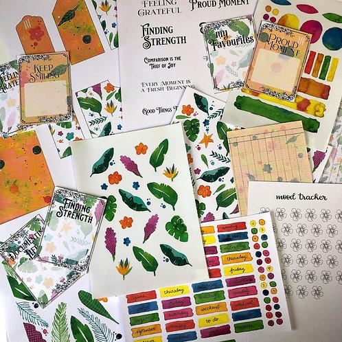 Journal Printables Bundle - Tropical Temptations