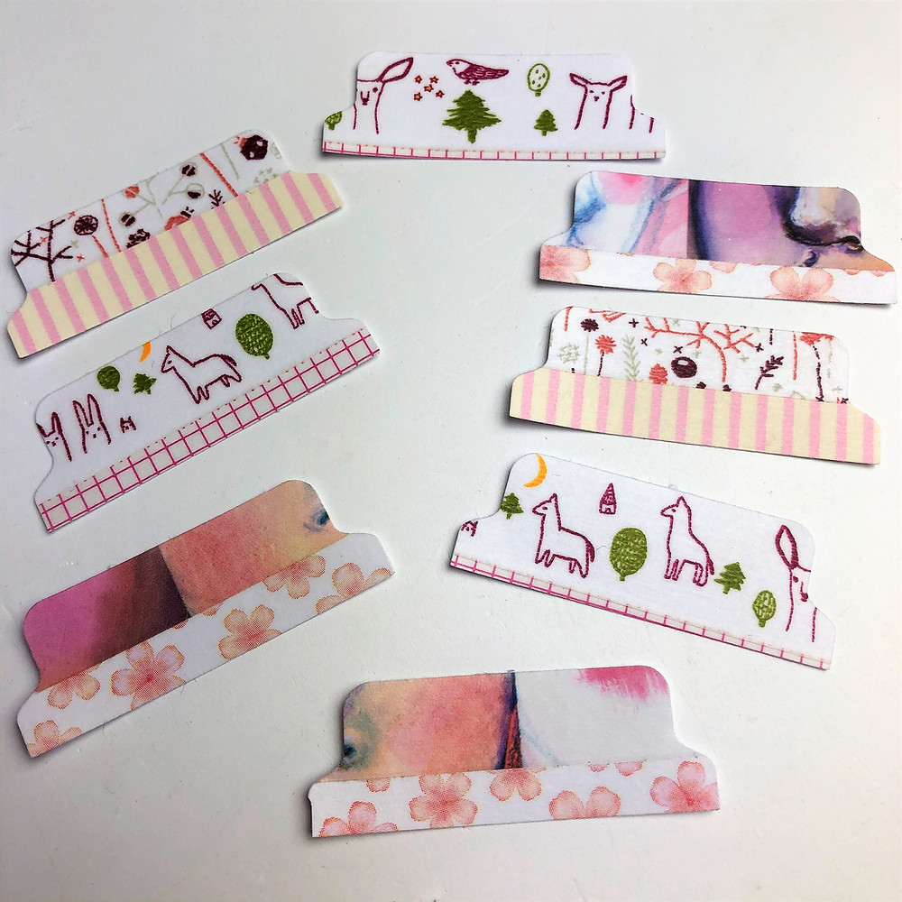 Washi Tape Tabs