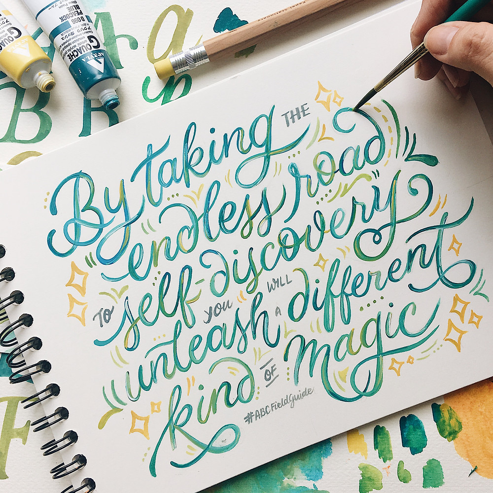 Abbey Sy Lettering
