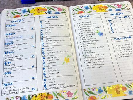 Combining Planning & Journaling