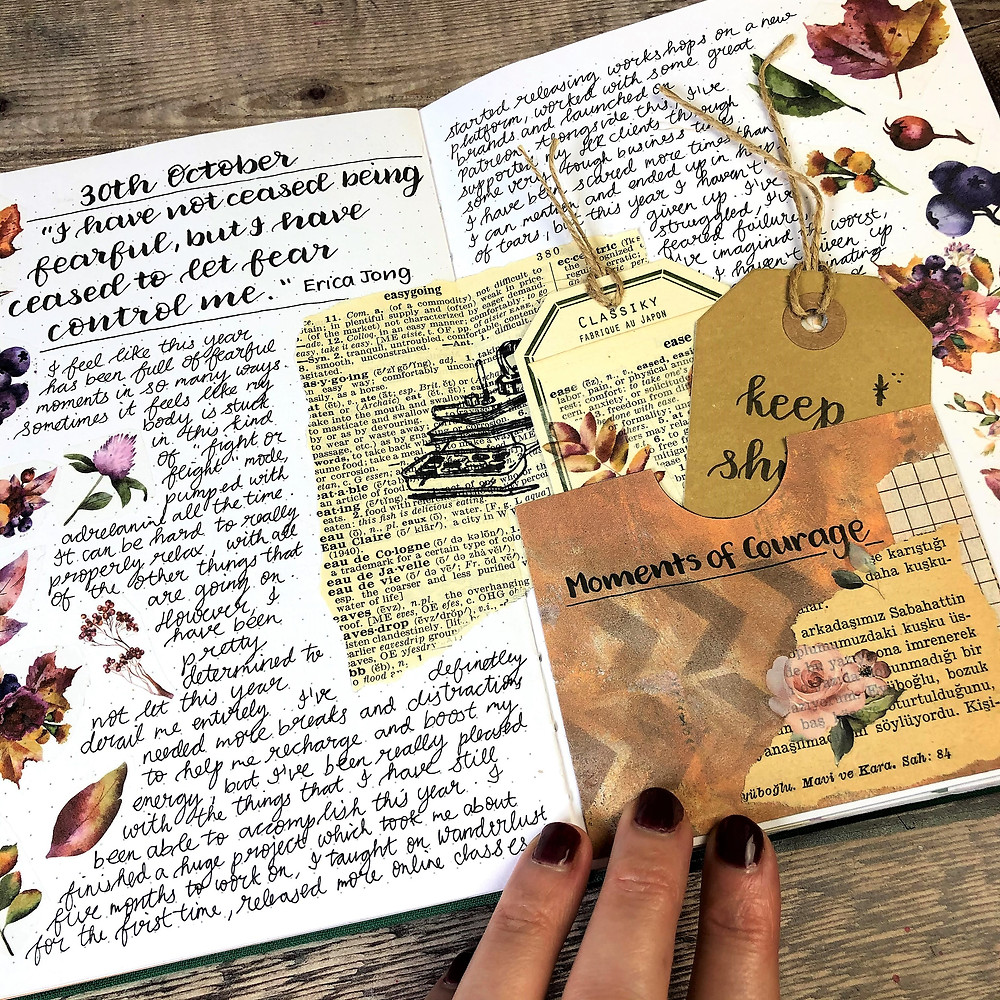 Journal Pockets and Tags