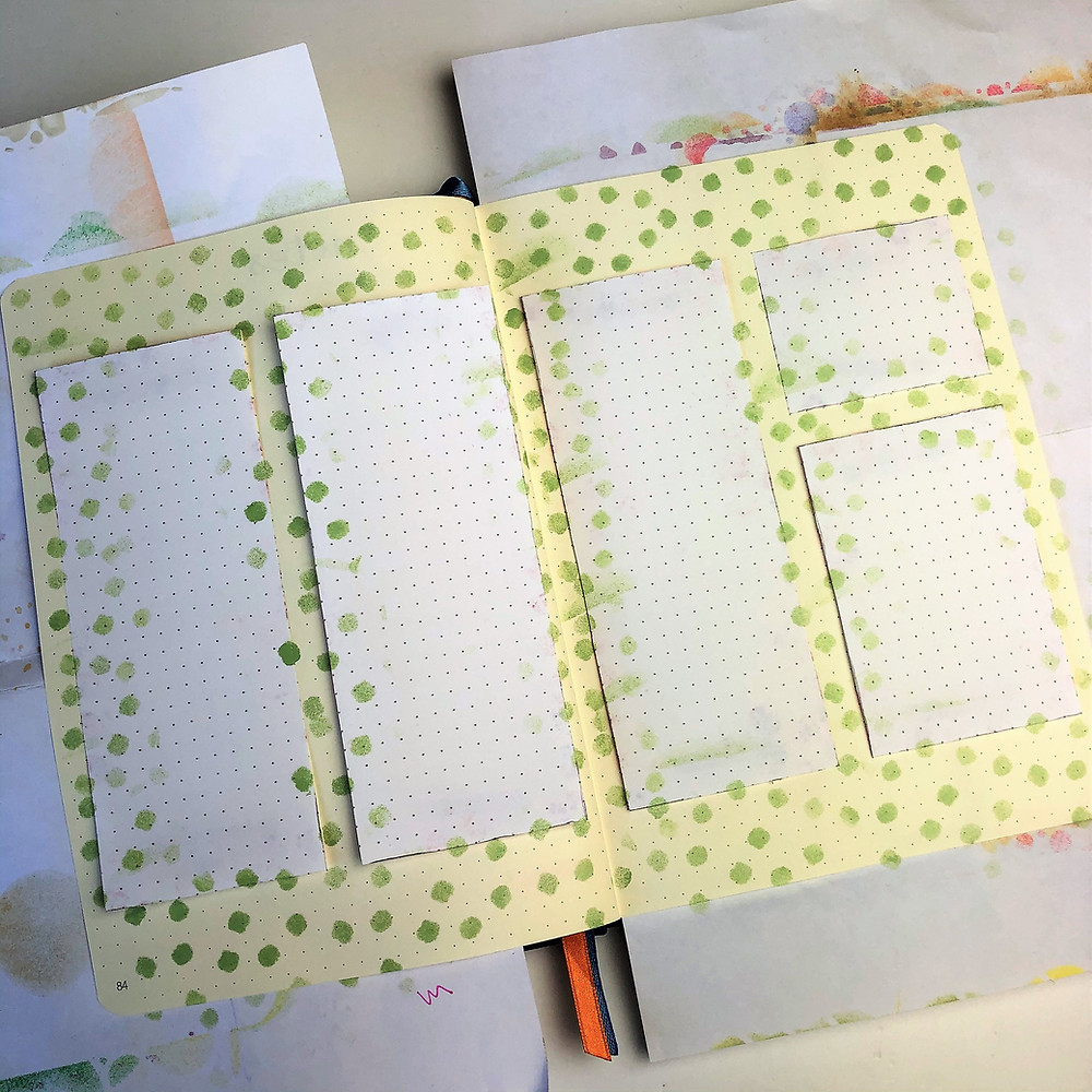 Journal Stencil Layouts
