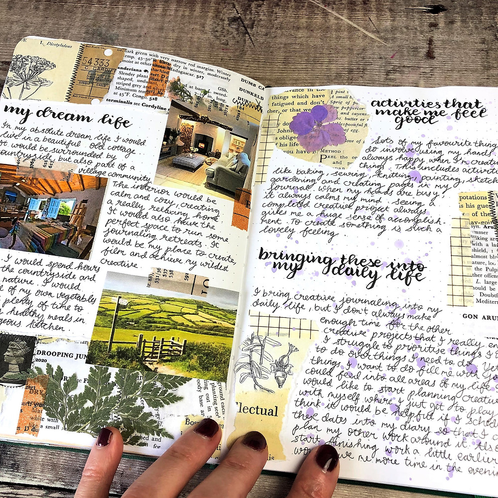 Dream Life Journal Pages