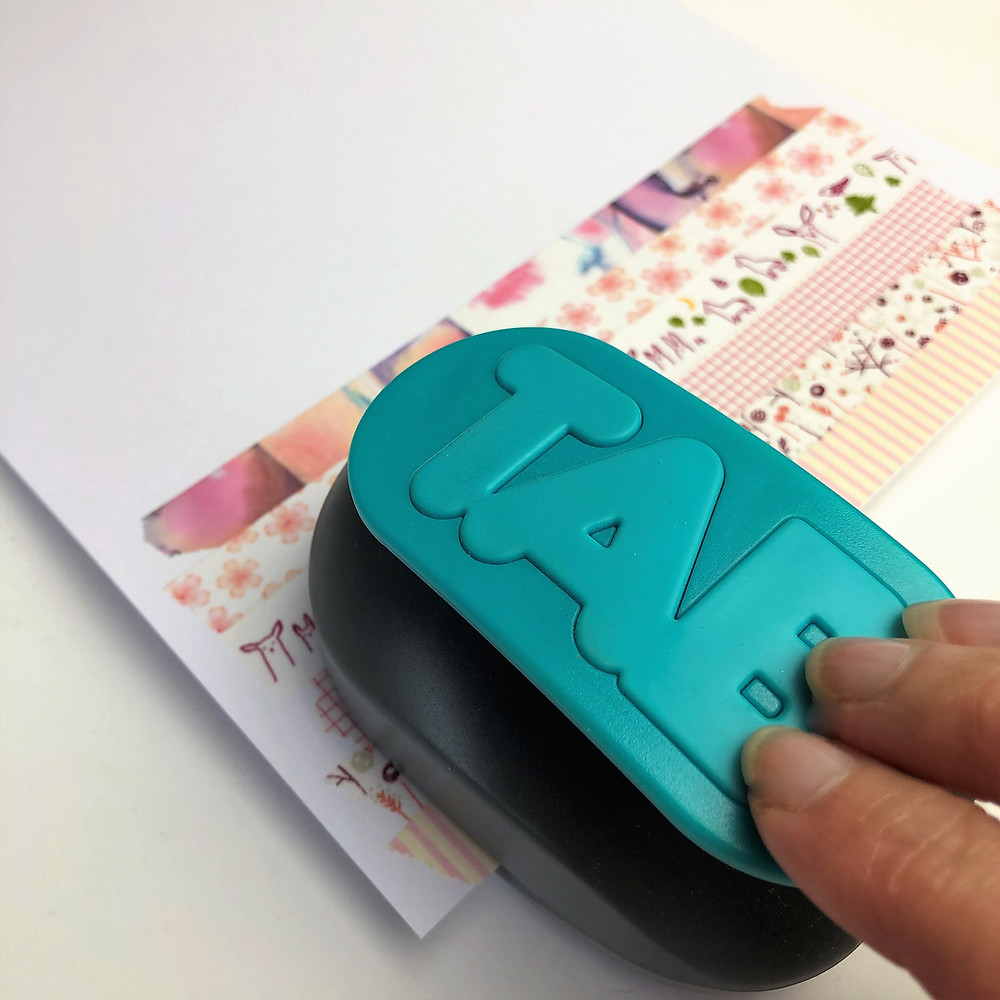 Washi Tape Page Tabs
