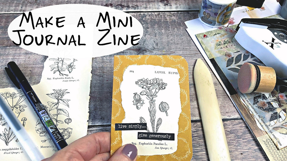 Make a Mini Journal Zine