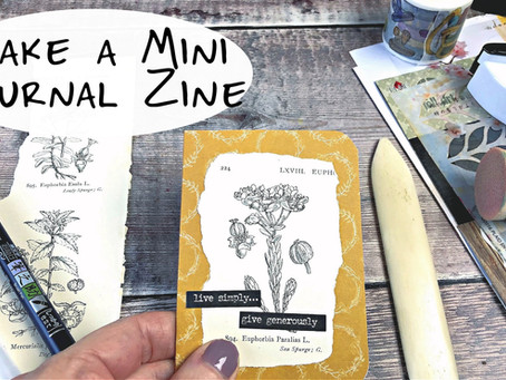 Make a Mini Journal Zine