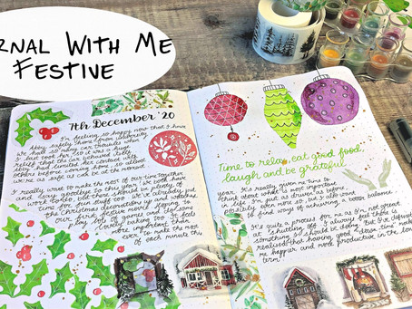 Festive Journaling Time