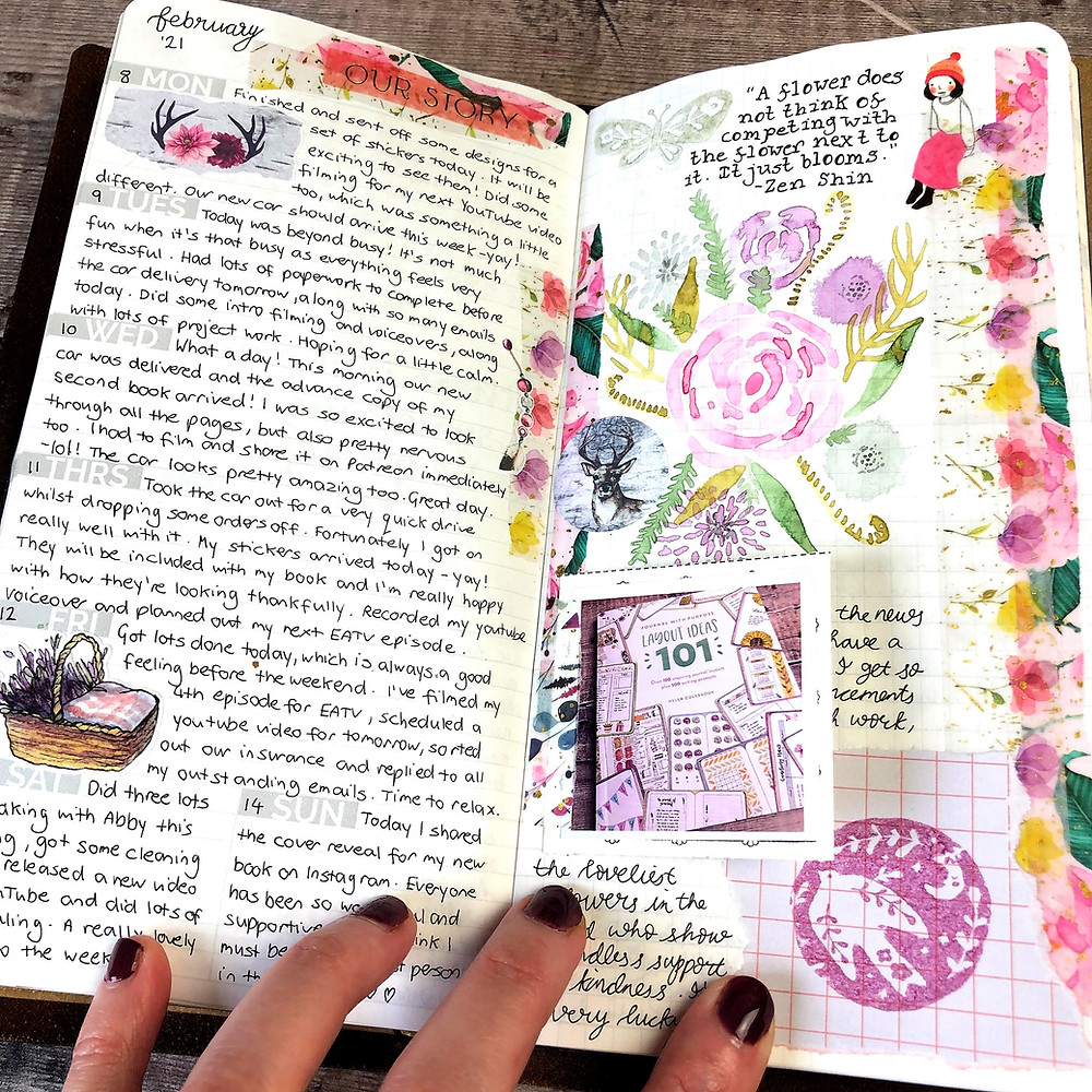 Watercolour Journal Pages