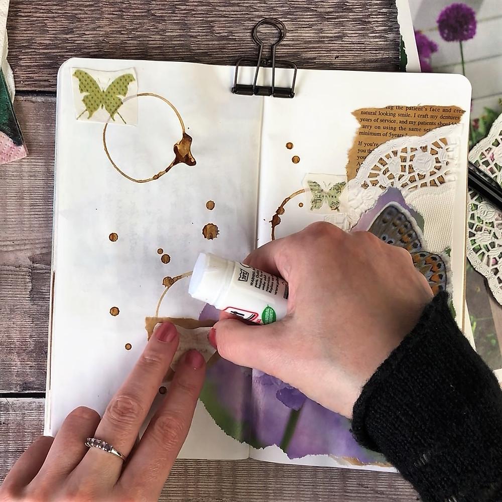 Junk Journal Paper Napkins