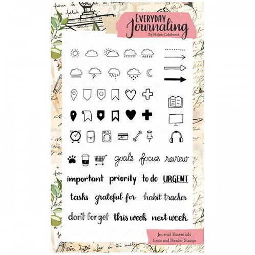 Icons & Headers Stamp Set
