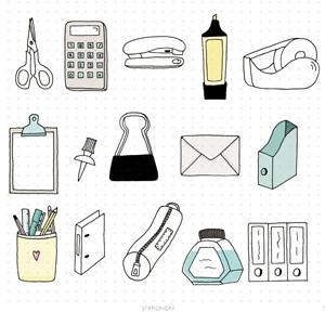 Stationery Doodles
