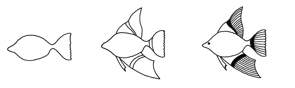 How to Doodle Fish
