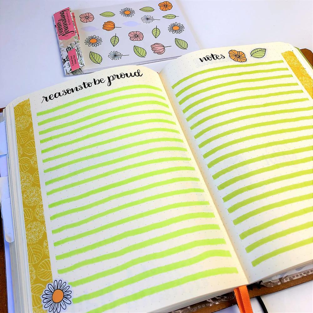 Bullet Journal Self Care